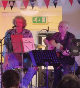 """Graham and Peter at """"The Gathering"""" Shenfield, Essex, June 2012"""