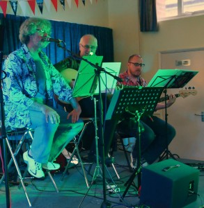 """Graham, Peter and Tom at """"The Gathering"""" Shenfield, Essex, June 2012"""